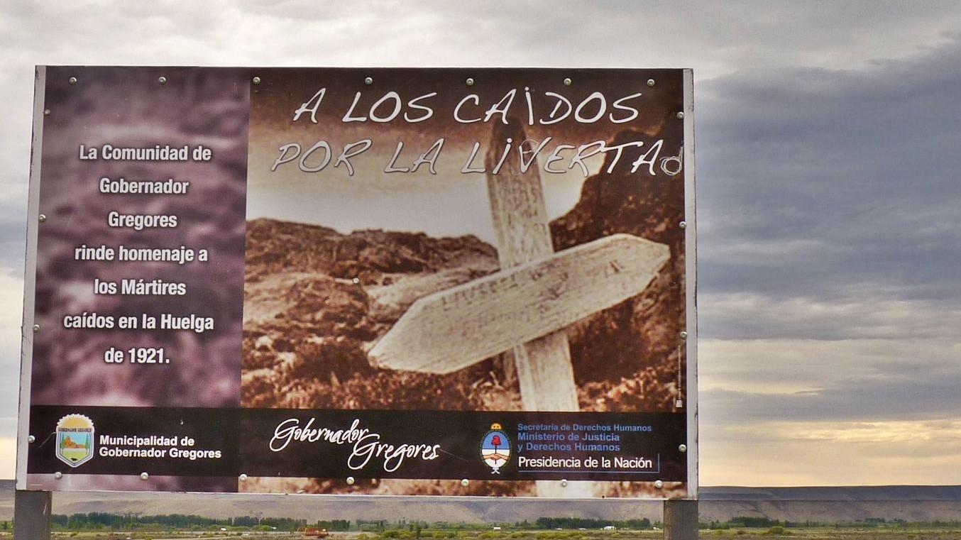 Memoria hoy: pequeños cementerios patagónicos